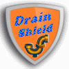 Just-Drain's Drain Shield Service Logo